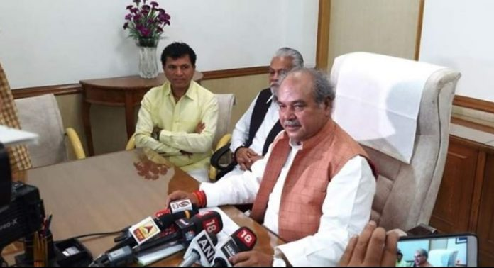 narendra-singh-tomar-takes-charge-as-Minister-of-Agriculture
