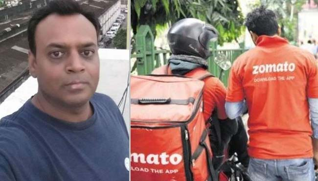 case-of-not-taking-food-from-the-delivery-boy-of-zomato-police-will-take-action-against-Amit-Shukla