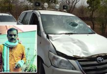 bjp-candidate-vd-sharma-road-accident-near-amanganj-katni--