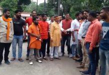zomato-controversy-in-jabalpur-hindu-parishad-support-of-Amit-Shukla-