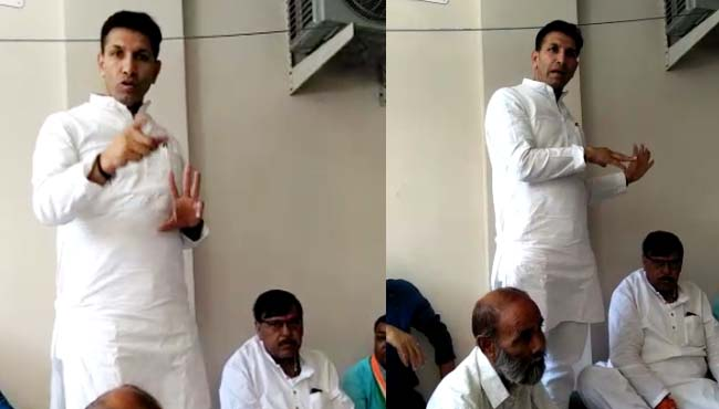 minister-jitu-patwari-open-offer-to-voters-video-viral