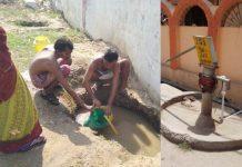 problem-of-water-in--Scorching-heat-in-singrauli-villages