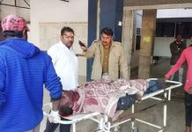 Road-accident--Truck-and-auto-collision-killing-three-people