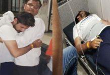 sarpanch-husband-beaten-patwari-in-indore