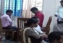 Woman-officer-takes-thirty-thousand-bribe-caught-by-jabalpur-lokayukt-in-chhindwara-