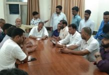 congress-workers-pain-out-infront-of-mla-in-gwalior-