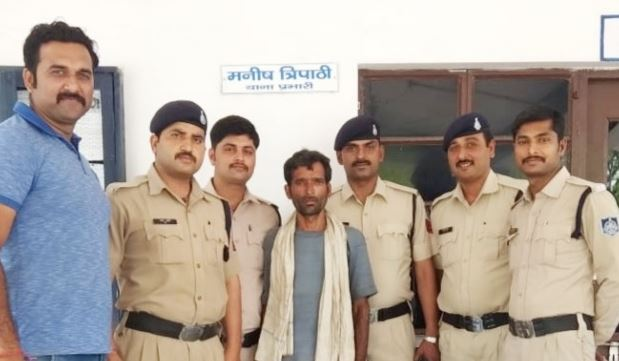 naniagadh-robbery-chief's-main-accused-arrested-from-Chhattisgarh