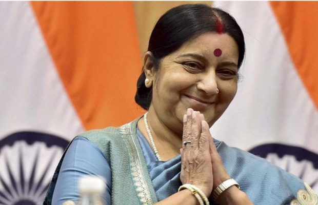 Former-Foreign-Minister-Sushma-Swaraj-passed-away