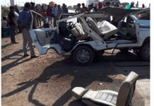 Satna-road-accident-three-people-died-and-many-injured-after-collision-between-dumper-and-van