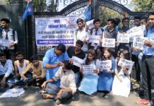 NSUI-made-shoes-in-Polish-protest-against-unemployment