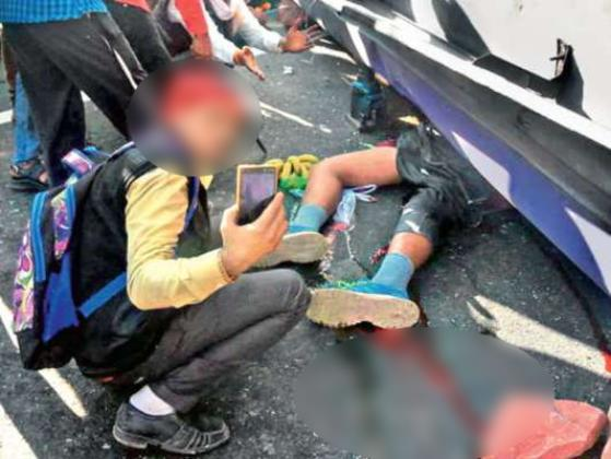 police-will-identify-people-who-film-injured-after-accident-in-noida