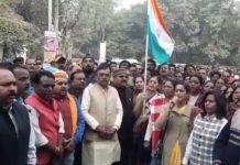 Jabalpur--BJP-joining-group-Vande-Mataram-singing