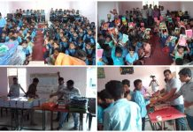 NGO-distribute-bags-and-copies-