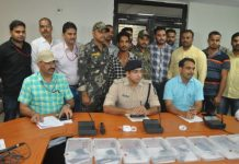 Arms-dealer-from-Rajasthan-arrested-with-8-native-pistol-and-5-live-rounds