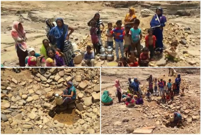 in-mp-here-is-a-deep-water-crisis-and-forced-to-drink-pit-water
