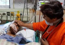 Pragya-Thakur-reached-the-hosipital-to-know-about-Gaur's-condition