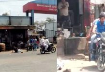beaten-to-youth-by-Sticks-on-the-street-with-illegal-recovery-of-10-thousand-in-rajgarh-