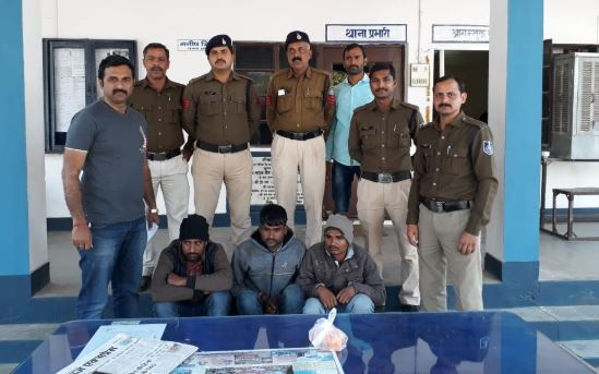 -Three-people-arrested-with-heroin-from-different-places