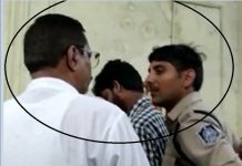police-jawan-and-leader-of-opposition-vidEO-viral-
