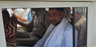 narsinghpur-mla-jalam-singh-patel-surrender-in-police-station-madhypradesh