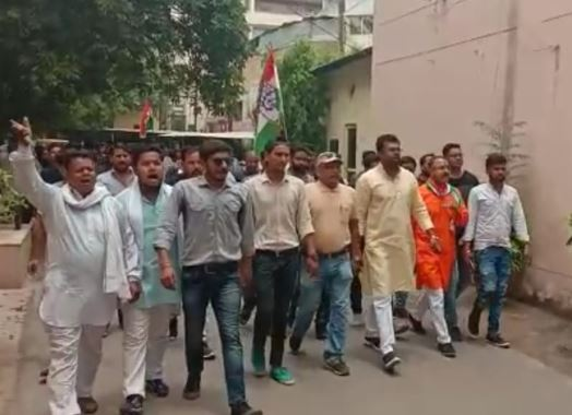NSUI-performed-protest-against-the-arrest
