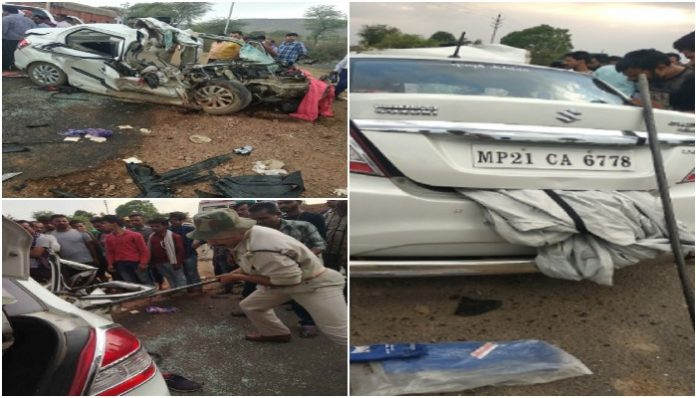 naval-officer-died-in-a-road-accident-near-satna-madhya-pradesh