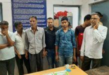 police-arrest-nine-in-jabalpur