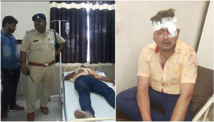 voting-bjp-councillor-injured-after-scuffle-broke-out-between-congress-and-bjp-workers-in-sagar