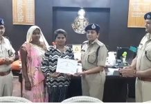 -Indore-police-honored-this-brave-daughter