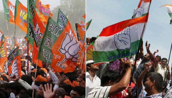 fight-between-congress-and-bjp-supporters-bhind-in-madhya-pradesh