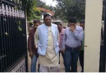 Minister-faggan-singh-kulaste-car-met-with-accident-in-mandla