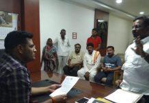 pandhana-MLA-complaint-in-police-station