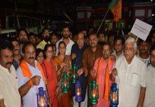 bjp-protest-rally-in-jabalpur