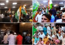 congress-worker-enters-in-indore-municipal-corporation-budget-session-indore-