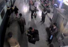 rpf-jawan-rescued-woman-falling-below-platform-at-ranchi-railway-station