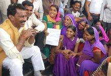 usha-worker-meet-health-minister-demand-for-permanenr-job