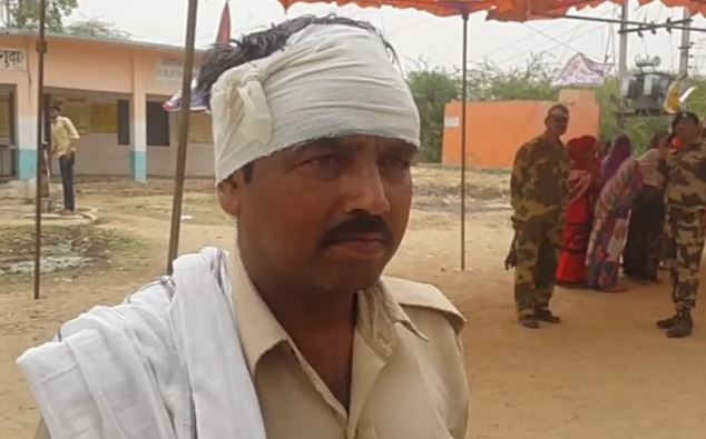 -FIR-against-a-dozen-in-the-case-of-beaten-of-soldier-during-election-in-bhind-
