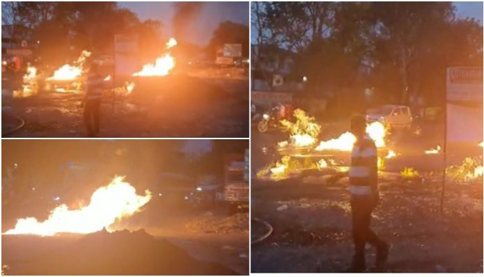 gas-pipeline-fire-two-burned-after-fire-catches-during-maintenance-indore