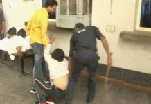 public-beating-thief-in-hospital-