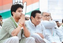 after-announced-Kamal-Nath's-as-a-cm-scindia-supporters-mla-reached-delhi