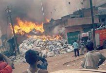 Fire-in-Junkyard-in-gwalior-over-25-lakh-loss