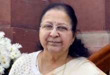 sumitra-mahajans-objection-to-the-massage-in-trains-madhya-pradesh