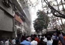 fire-in-metro-tower-in-indore