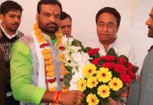District-Panchayat-member-Pratap-Singh-Arya-joined-the-Congress