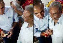 ramnivas-rawat-reached-anup-mishra's-house-for-giving-birthday-wishes-