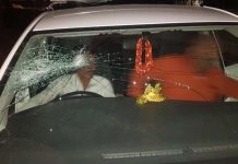 Attack-on-tarana-Congress-MLA-Unidentified-criminals-burst-car-glass