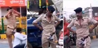 police-men-Drink-alcohol-on-the-mid-road-caught-in-camera
