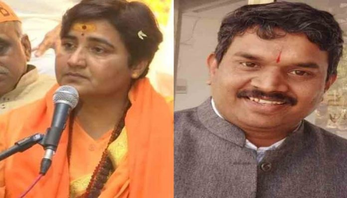 young-man-arrested-due-to-objectionable-comment-against-pragya-thakur-on-social-media