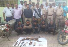 Four-accused-arrested-on-hunting-in-burhanpur