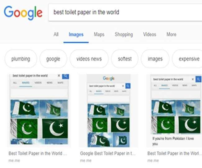 Google-flag-showing-the-best-toilet-paper-after-the-Pulwama-attack